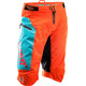 Leatt Brace DBX 4.0 Biking Shorts Orange/Teal